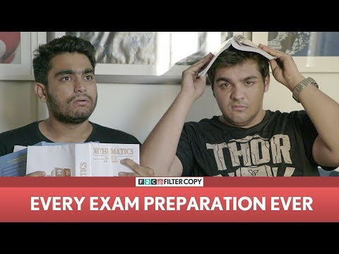 Filtercopy | Every Exam Preparation Ever | Ft. Ashish Chanchlani And Viraj