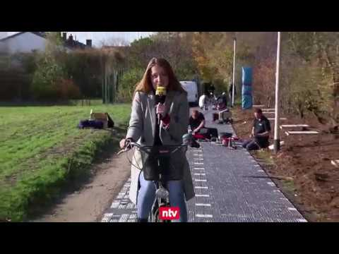 Erftstadt (NRW): Erster Solarweg Deutschlands geht ans Netz