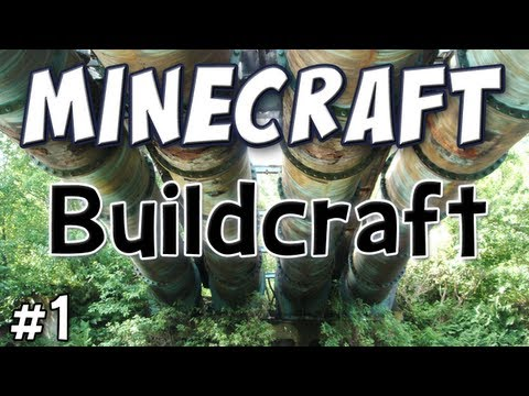 Minecraft - Buildcraft Mod Spotlight - (Technic Pack Part 1) Video