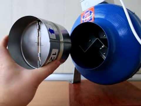 Антивозвратный клапан своими руками 6