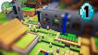 Transform a Minecraft Village into a Town E01
