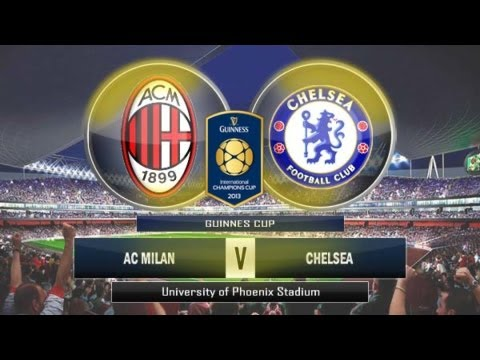 Chelsea FC vs AC Milan 04/08/2013 full highlights and all goals 2-0 International Champions Cup 2013