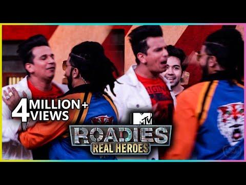 Prince Narula and Raftaar UGLY Fight | MTV Roadies Real Heroes