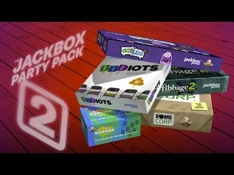 The Jackbox Party Packs 1, 2 & 3