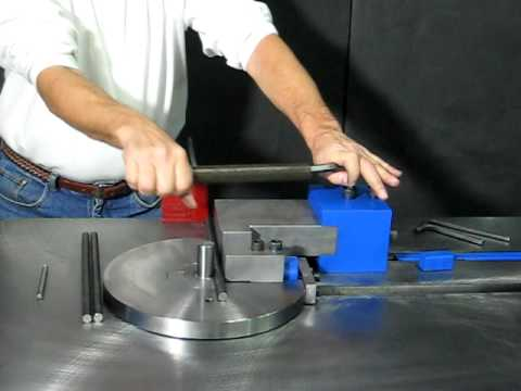 Bar Stock Bender Pedrick Model DD-5 Setup & Operation – Part 1