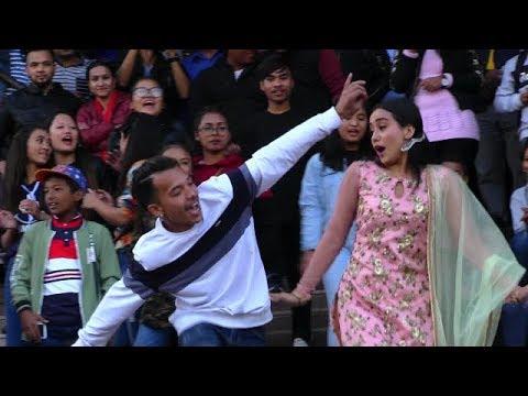 (Swostima Khadka || काठमाडौँ मलमा स्वस्तिमाको बबाल डान्स || bulbul song release - Duration: 5 minutes, 31 seconds.)