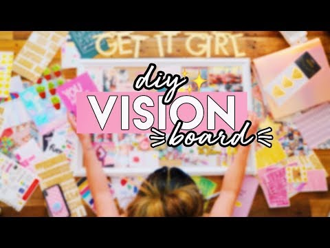 DIY Vision Board: Achieve Your 2019 Goals ✨