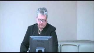 2011 Elizabeth Stone Lecture, Elizabeth Aversa