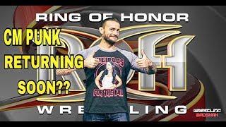 Nonton Cm Punk returning to ROH??? Film Subtitle Indonesia Streaming Movie Download