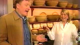 Video Conan O'Brien visits Martha Stewart MP3, 3GP, MP4, WEBM, AVI, FLV Februari 2019