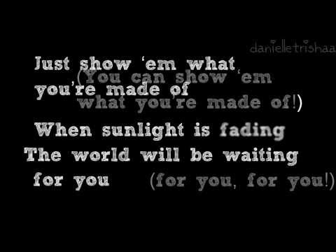 Show 'Em (What You're Made Of) - Backstreet Boys (Lyric Video)