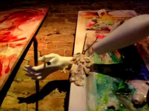 Ivan Garcia - paintings in LED