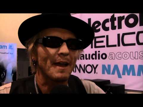 Matt Sorum interview Namm 2012