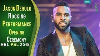 Video Jason Derulo | Rocking Performance | Opening Ceremony PSL 2018 | PSL MP3, 3GP, MP4, WEBM, AVI, FLV Maret 2018