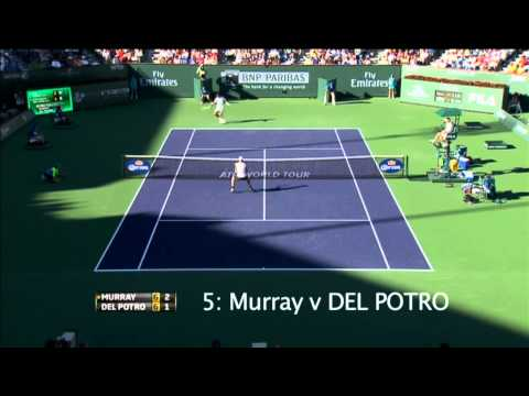 Best moments of Indian Wells 2013