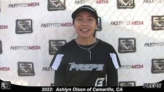 2022 Ashlyn Olson Outfield and Second Base Softball Skills Video - Easton Preps