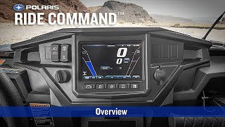 8. RIDE COMMAND: Overview - Polaris RZR Sport Side by Side ATV