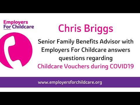 Childcare Vouchers – advice for parents during COVID19