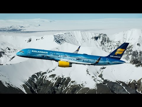 Ледниковый самолет: Icelandair посвятила ливрею крупнейшему леднику Исландии - Центр транспортных стратегий