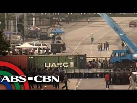 will - Security is tight along roads surrounding the Batasan Pambansa Complex for the State of the Nation Address (SONA) of President Benigno Aquino III. Subscribe to the ABS-CBN News channel! -...