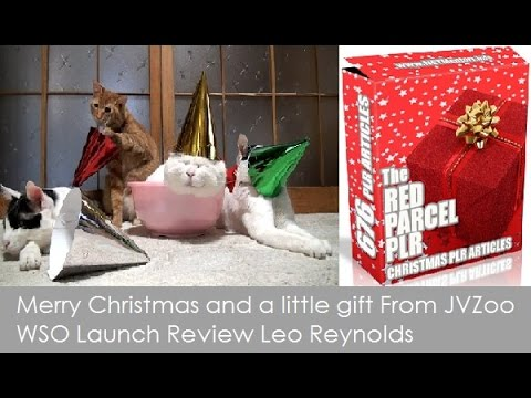 MERRY CHRISTMAS and a little gift from JVZoo WSO Launch Review Leo Reynolds