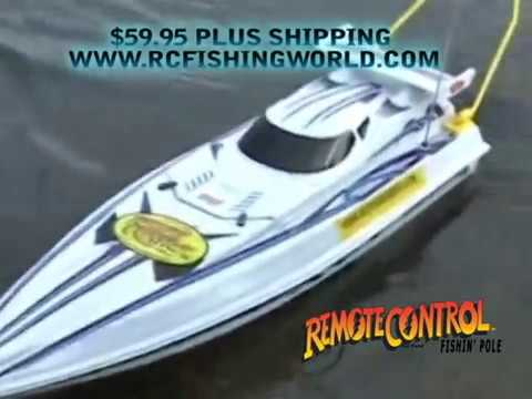 Meet the Rc Fishing Boat Radio Ranger it Goes Remote Control Fishing!