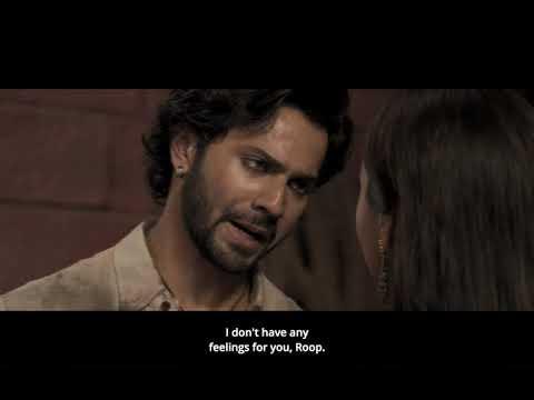 Kalank | Roop confesses her feelings to Zafar | Varun Dhawan | Alia Bhatt | English Translation