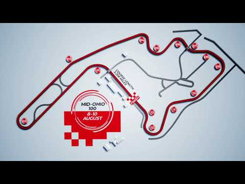Mid-Ohio Sports Car Course Map