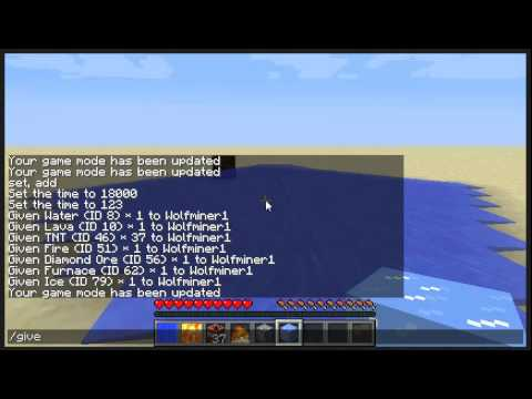How To Cheat On Minecraft Pc