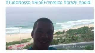 O atacante Lukas Podolski está apaixonado pelo Brasil: come churrasco, escreve textos em português nas redes sociais, assiste a novela e volta e meia, vira ...