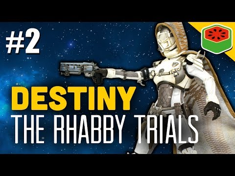 Destiny The Rhabby_V Trials #2  - The Dream Team (Funny Moments)