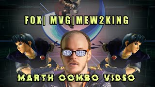 Fox| MVG| Mew2King Marth Combo Video | The Kings Reign
