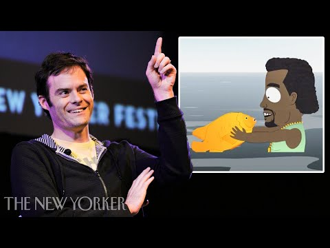 "Bill Hader on Working for ""South Park"" & the Kanye Fish-Sticks Ep"