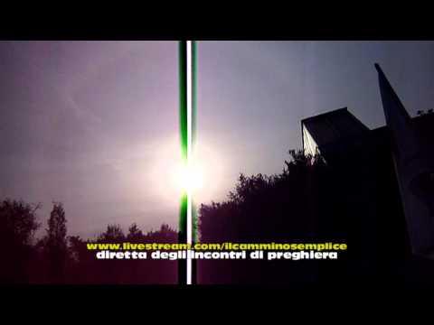 PRODIGIO DEL SOLE A NAPOLI DOPO APPARIZIONE DELLA MADONNA  02.02.2012