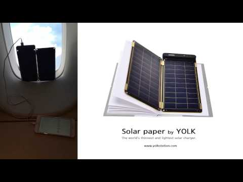 Solar Paper green greetings from sky