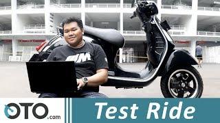 6. Vespa 150 GTS i-Get ABS | Test Ride | Bersurat Bersama Bapak | Oto.com