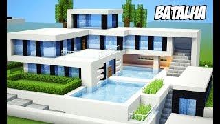 Minecraft | Batalha de Casas Modernas | CONSTRUÍ A MINHA SUPER MANSÃO
