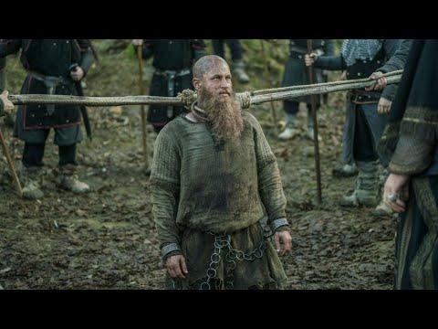 لحظة موت الملك راغنار لوتبروك في حفرة الأففاعي -viking s4