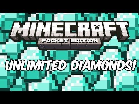 INFINITE DIAMONDS! – Minecraft: Pocket Edition Cheat/Glitch/Hack