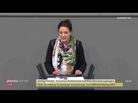 Bundestagsdebatte zum kollektiven Rechtschutz und Musterf ...