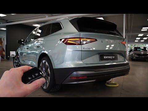 2021 Skoda Enyaq iV (204hp) - Visual Review!