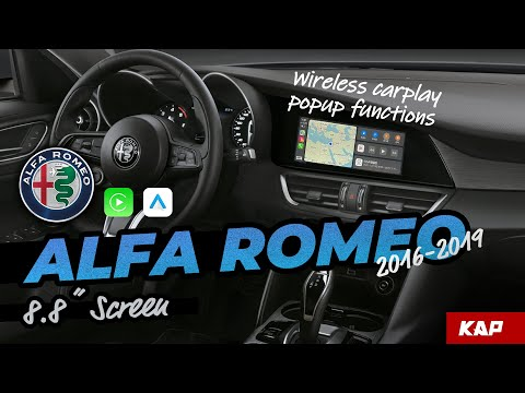 Alfa Romeo Giulia/stelvio 2016~2020 Carplay / Android AUTO (…