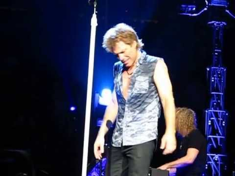 St. Paul - Bon Jovi Always - Xcel Energy Center in St Paul, MN - April 7, 2013.