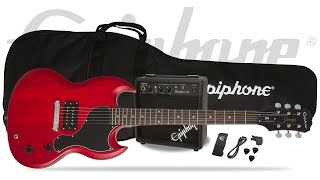 The Epiphone SG Junior Pack includes everything you need to start playing electric guitar right away including a legendary...