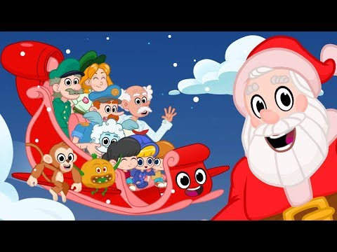Merry Christmas Songs For Kids With Animation - My Magic Pet Morphle