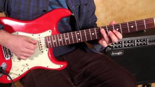 Beginner Blues Guitar Lessons - Soloing - Concepts for the Minor Pentatonic Scale