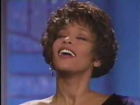 Whitney Houston–the Voice!!! Woooo!