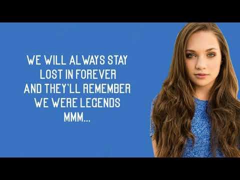 Mackenzie Ziegler - Legends (Lyrics)