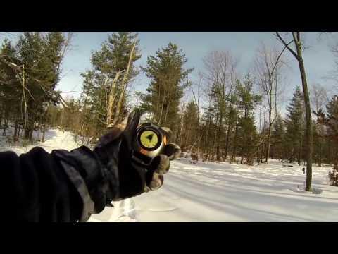 Видео Цифровой GPS компас возвращатель Bushnell BackTrack G2