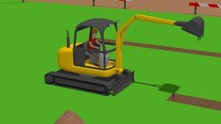 Video #Excavator Mini, Trucks | Street Vehicles | Construction of the airport | Maszyny drogowe Budowa download in MP3, 3GP, MP4, WEBM, AVI, FLV January 2017